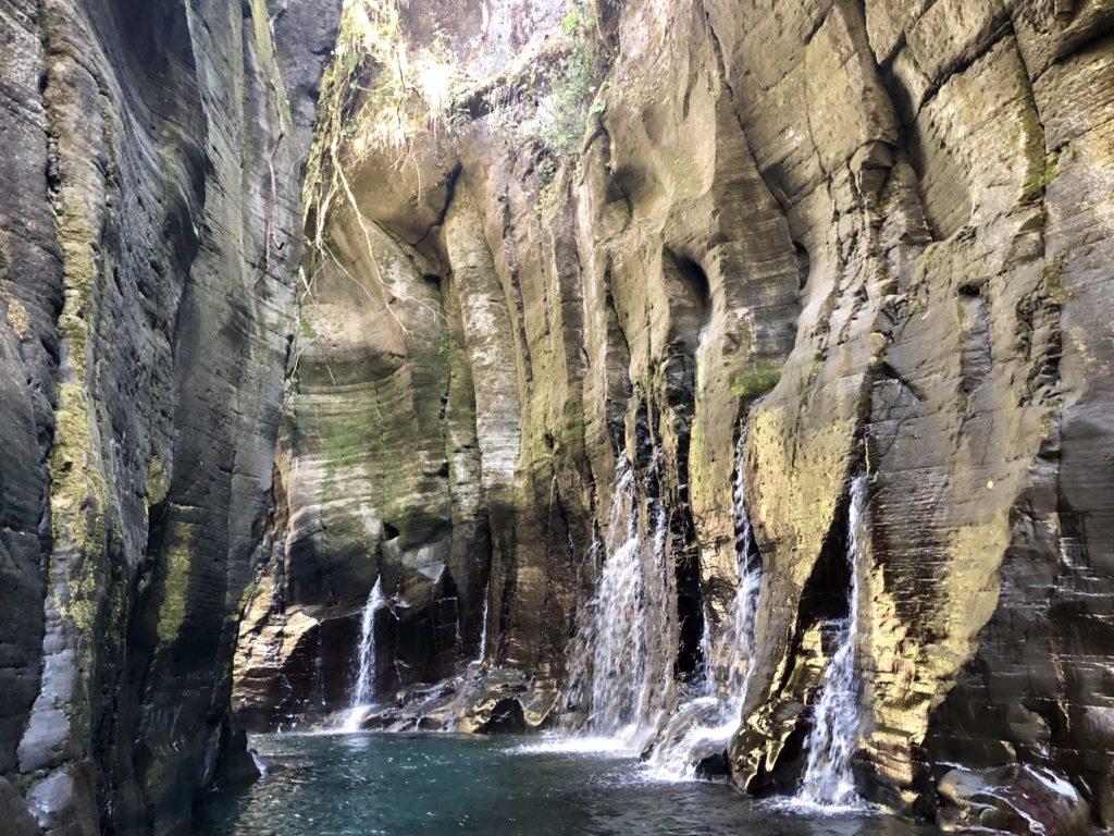 Vista interna del Cañón Macho de Monte