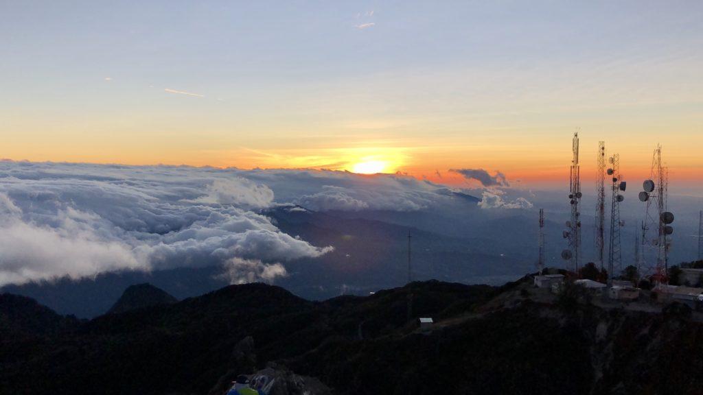 Vista de Volcán Barú