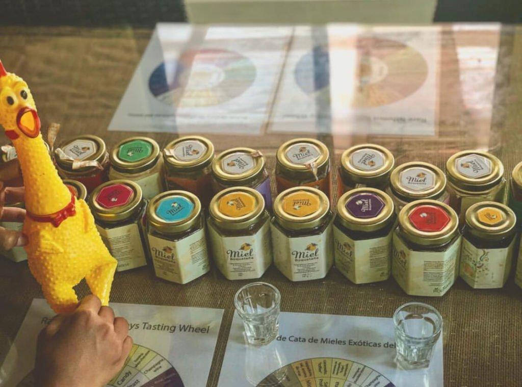 Diferentes clases de miel