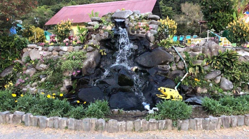 Fuente del jardín