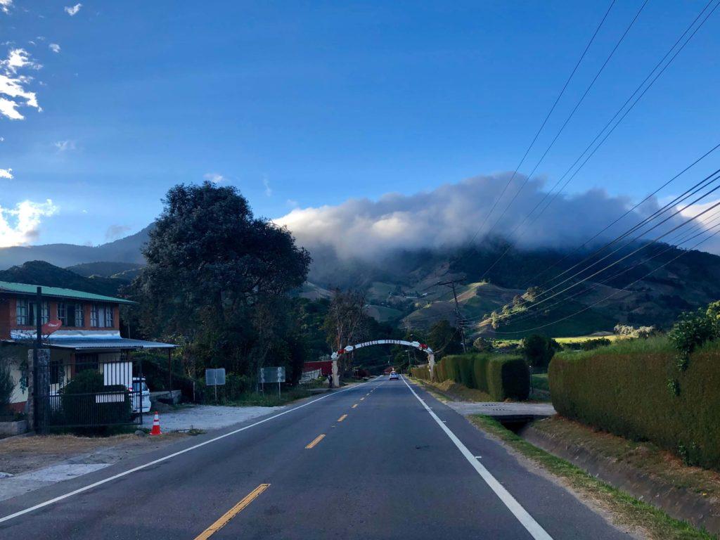 Vista del pueblo de Volcán