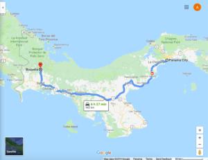 Ruta Panamá - Boquete. Guía de Viaje: Boquete