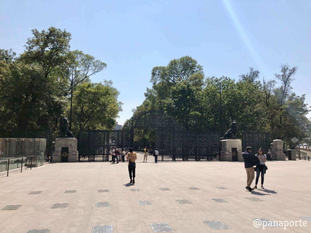 Entrada a Chapultepec