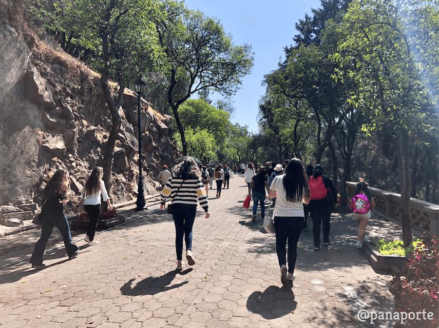 Camino hacia el Castillo