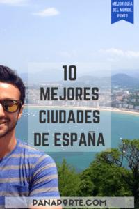 Pin 10 Mejores Ciudades de España