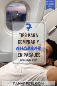 Pin 7 Tips para Comprar y Ahorrar en Pasajes