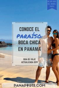 Pin Conoce El Paraíso: Boca Chica en Panamá