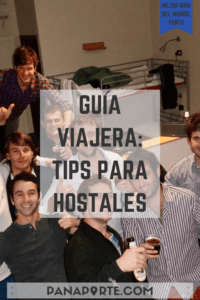 Pin Guía Viajera: Tips para Hostales