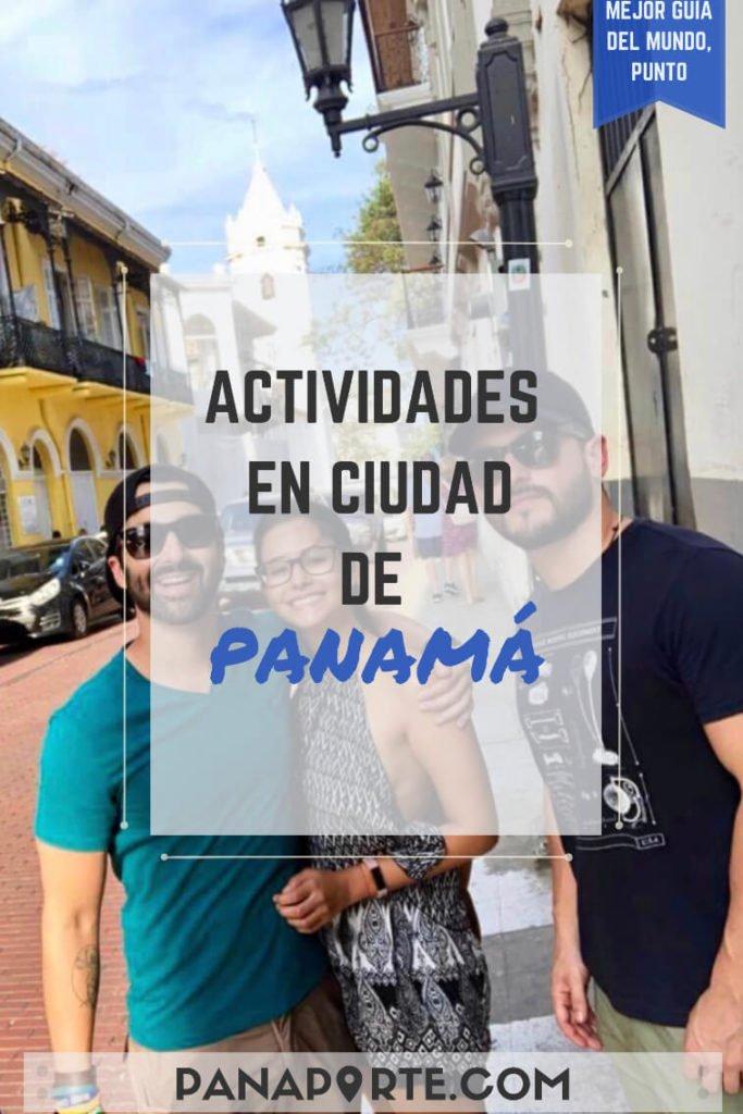 Pin Actividades en Ciudad de Panamá