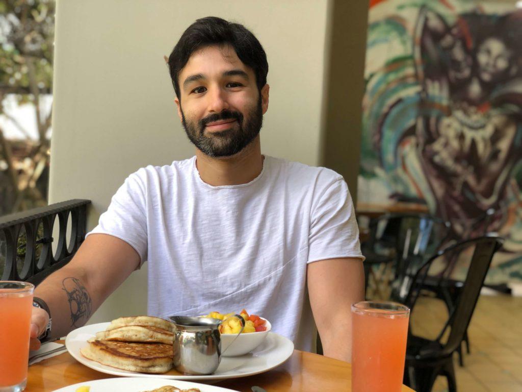 Desayuno en Fauna Hostel