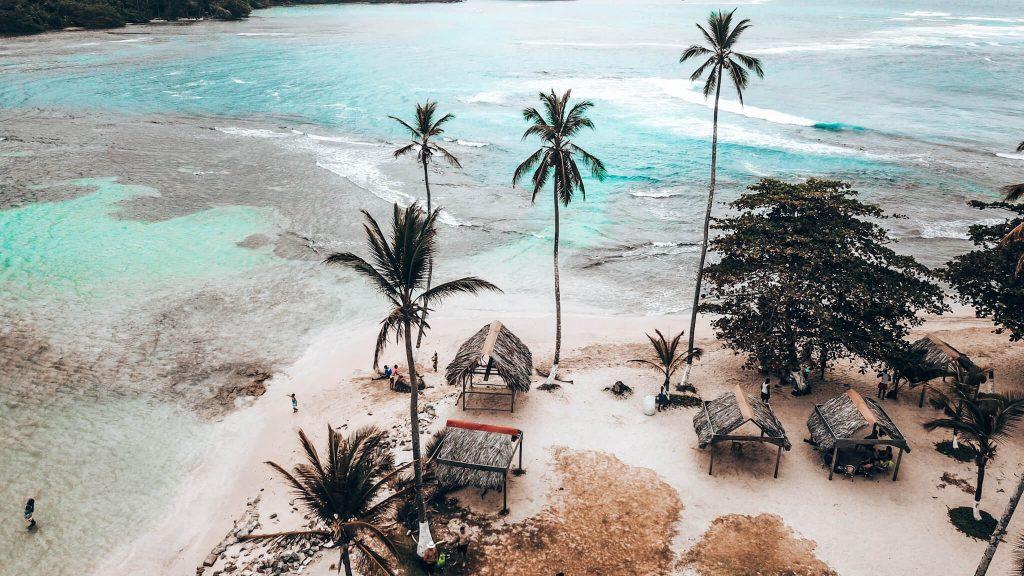 Playa Mamey Desde Arriba