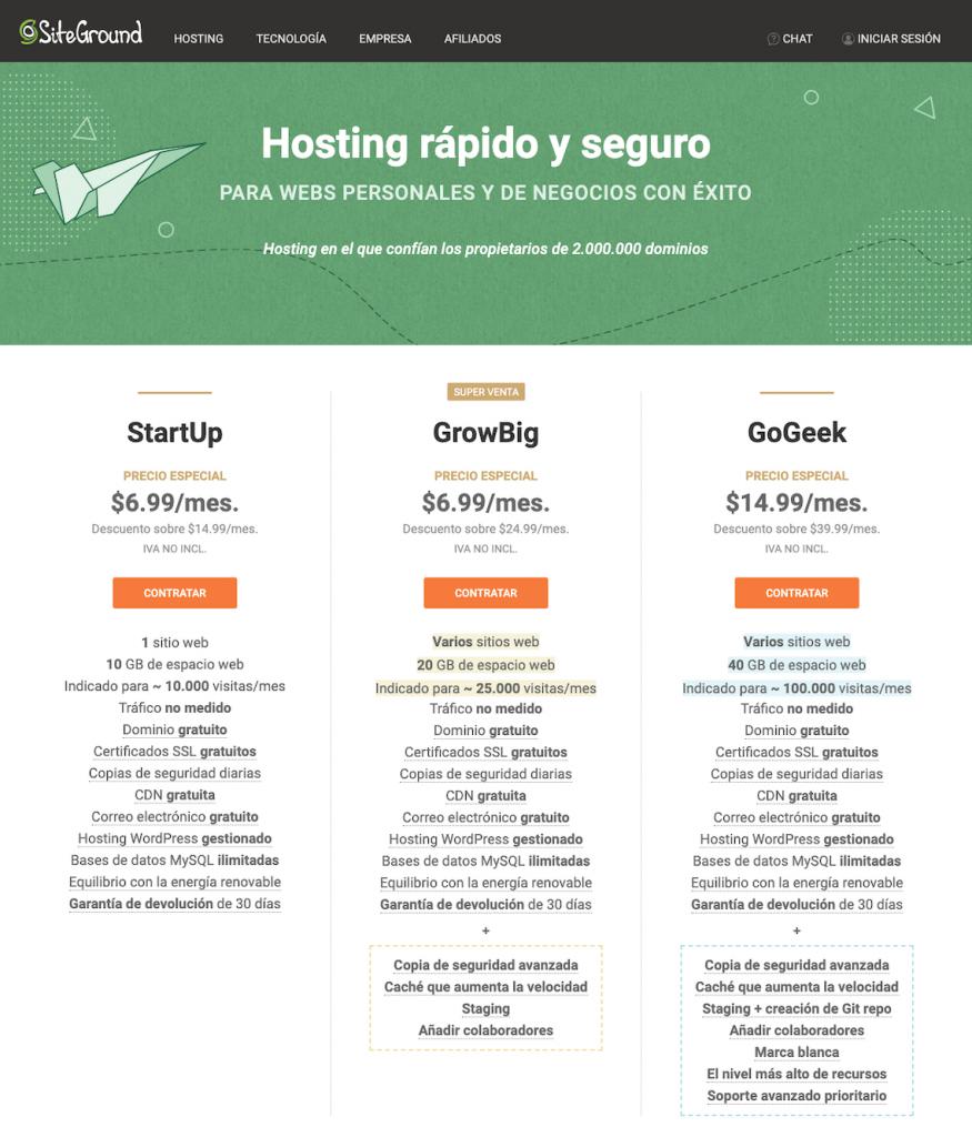 ¿Cómo escoger hosting barato?