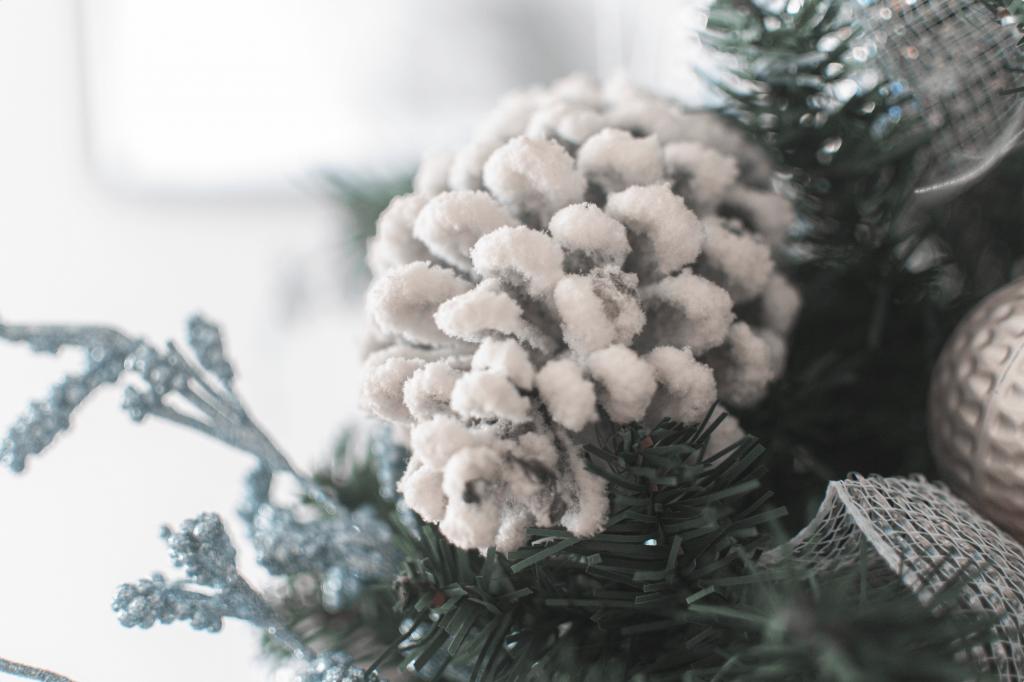 Decoración de Navidad Sostenible